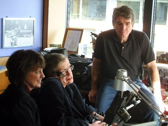 Peter Ford and Stephen Hawking and Someone