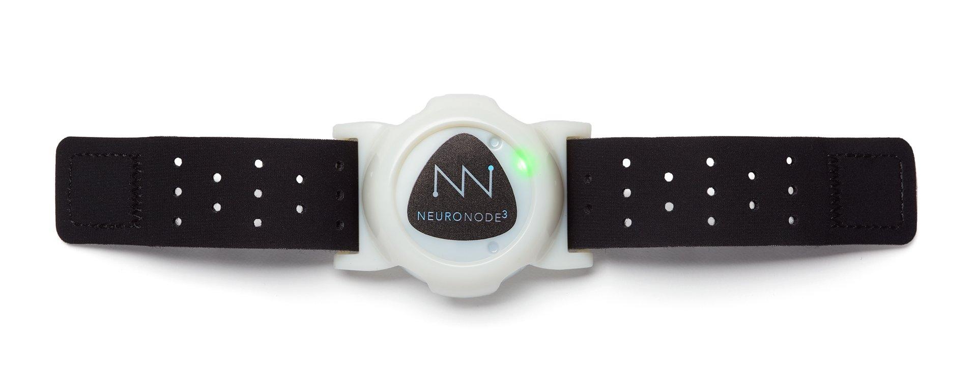 NeuroNode 3 on wrist strap